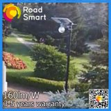 情報処理機能をもったLEDの太陽エネルギーによって動力を与えられる屋外の庭の通りの壁ライト