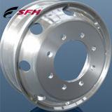 roda forjada alumínio do caminhão da liga para o barramento & o caminhão