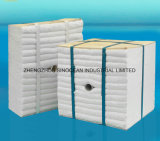 Modulo refrattario 1400c della fibra di ceramica delle lane dell'isolamento