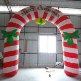 Boog van de Kerstman van de reclame de Kleurrijke voor de Viering van Kerstmis