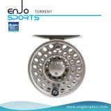 Carretel da pesca de mosca do equipamento de pesca do CNC do alumínio