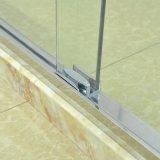 Стильная и надежная сдвижной с закаленного стекла безопасности душ в корпусе