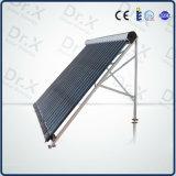 Todo el colector solar solar del acero inoxidable con los tubos de calor