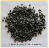 Les abrasifs Brown l'alumine fondue a également nommé Brown corindon poudre Sunako