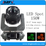 Mini LED 150W moviendo la cabeza de las luces de la etapa de iluminación discoteca DMX512