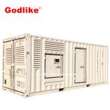 1000kVA /800kw Cummins Containerlized 건강한 증거 디젤 발전기