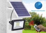 Ahorro de lúmenes alta garantía de protección IP65 100W Reflector LED Solar