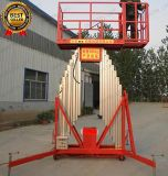Elevatore mobile elettrico dell'uomo della lega di alluminio usato per manutenzione aerea