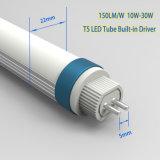 T5 il driver interno, 160lm/W ha glassato l'indicatore luminoso del tubo del coperchio LED