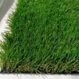 Erba artificiale dello Synthetic del giardino dell'erba del tappeto erboso di vendita sintetica verde della parte superiore