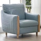 新しい到着のホテルのロビーの家具L形の革ソファー(8069)