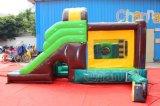 Palmera castillo inflable saltando Deslice Combo CHB798