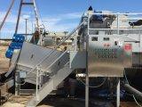 Het Ontwateren van de modder voor Zuivelfabriek/Varkensfokkerij