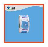 Самоклеющиеся наклейки рулона бумаги/индивидуальные этикетки печать