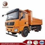 Shacman 6X4 10 Wheeler Camion-benne, 30 tonnes camion à benne basculante de roue d'alimentation, 30 tonnes Camion de camion à benne basculante