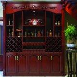 Европейский Домашняя мебель цельной древесины винный шкаф/Вино для установки в стойку (YH-WC2001)