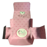 Розовый свет кремовая бумага системной платы в салоне с красивыми логотип