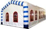 حزب بيضاء كبيرة قابل للنفخ خيمة عرس خيمة سقف أعلى خيمة