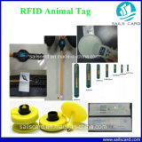 動物IDのマイクロチップを搭載するRFIDの動物のガラス札