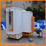 Cabina industriale del rivestimento della polvere di vendite calde con Reciprocator ed il basamento manuale