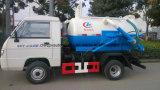 Mini camion di aspirazione delle acque luride delle 6 rotelle 3 tonnellate di vuoto di prezzi del camion