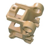 Bâti de fer de pièces de rechange de coutre de machines de ferme