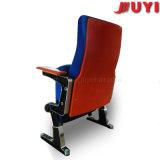 Silla púrpura del precio de fábrica plegable la silla incombustible de Pasillo del auditorio del teatro de la tela del diseño moderno