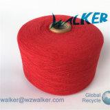 OE ha riciclato/fili di cotone rigenerati per la coperta