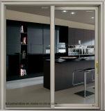 Portelli scorrevoli di alluminio con vetro Basso-e per commerciale e residenziale