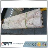 卸売価格のローマのコラムのための木の静脈の大理石のオニックスの平板