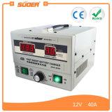 Chargeur solaire intelligent de remplissage du mode 12V 40A de Suoer PWM (A04-1240)