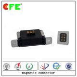 Maschio e connettore di potere magnetico femminile con il cavo del USB