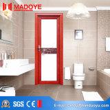 China-traditionelle hölzerne Korn-Baumaterial-Aluminiumbadezimmer-Tür