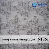 Tela do laço do engranzamento do jacquard de matéria têxtil de Jiaxing para o vestuário do roupa interior
