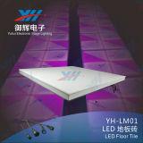 432PCS DMX LED Waterproof Portable Light Up Dance Floor para DJ Clubes Iluminação de palco