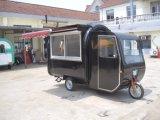 Alimentos de preparación rápida Van (SHJ-MFR220GH) de la calle móvil de la motocicleta