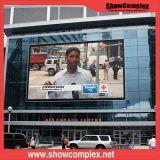 Écran de publicité visuel extérieur polychrome de P8 Digitals