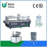 CNC Hoge snelheid 5 de Machine die van de Straal van het Water van de As Ceramiektegel snijden