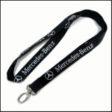 Tecido de computador / Jacquard / bordado Logo Custom Lanyard for Promotion