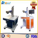 Sistema de escritorio de la marca del laser de la fibra para el metal