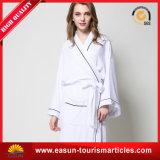 Combinaison de châle classique en coton Robes de bain en coton Terry / Velour Hotel Peignoir