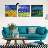 Vente en gros Salle de séjour de haute qualité Pendentifs muraux en toile Reproductions d'imprimés Toile Peinture à l'huile