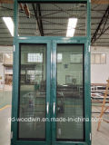 Woodwin heißer Verkäufer-thermischer Bruch-Aluminiumfenster mit Moskito-Netz