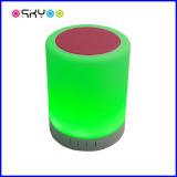 Altavoz sin hilos de Bluetooth de la música de la lámpara 4.0 del tacto del LED