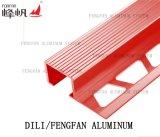 Il testo fisso quadrato di alluminio delle mattonelle per protegge l'angolo