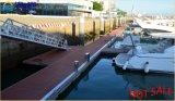 Qualität galvanisierte Stahlboots-Passage-Strichleiter für sich hin- und herbewegendes Dock