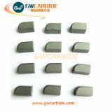 Напаянные режущие части цементированного карбида K10 K20