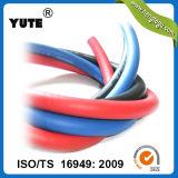 Yute는 1/8 인치 오존 저항하는 피복 고무 공기 호스를 덮었다