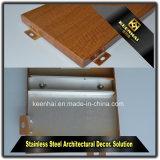 Panneau en aluminium décoratif en imitation en bois avec mélangeur Imperméable à l'humidité