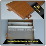 Decorativos Imitación Madera chapa de aluminio con mesa de mezclas Moistureproof